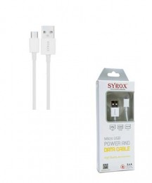 SYROX SYX-C14 S3/S4 / 2.4A / 1,2M / Kablo